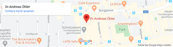 Dr. Andreas Oehler in Wien-Standort Kanzlei-Tablet